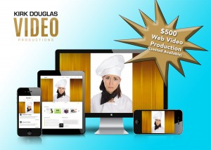 $500 Web Video Production offer